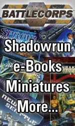 BattleCorps -- Shadowrun and Classic BattleTech eBooks and more